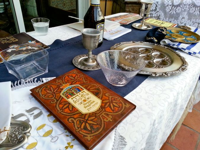 Haggadah and Seder Plate